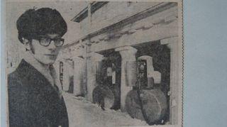 """Turun Sanomat julkaisi 7.3.1970 kokosivun jutun otsikolla """"Hätähuuto Turun puolesta - on viimeinen hetki pelastaa Vartiovuori ja Turun vanha keskusta""""."""