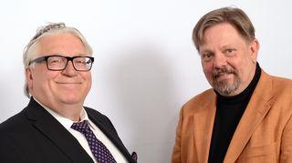 Kyösti Kakkonen ja Juho-Pekka Rantala