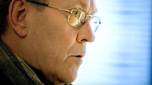 Radioateljeen tuottaja Harri Huhtamäki. Kuva: Seppo Sarkkinen / Yle Kuvapalvelu