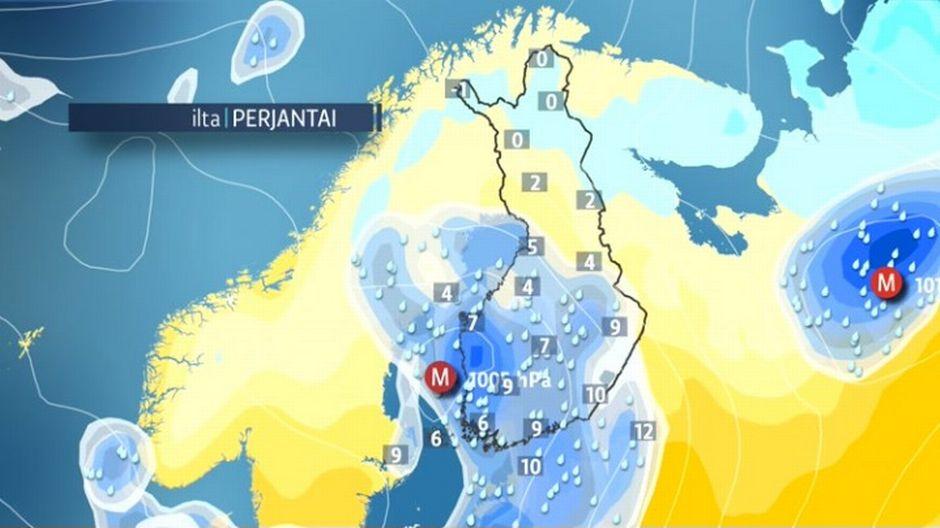 Äitienpäiväksi epävakaista säätä | Sää | yle.fi