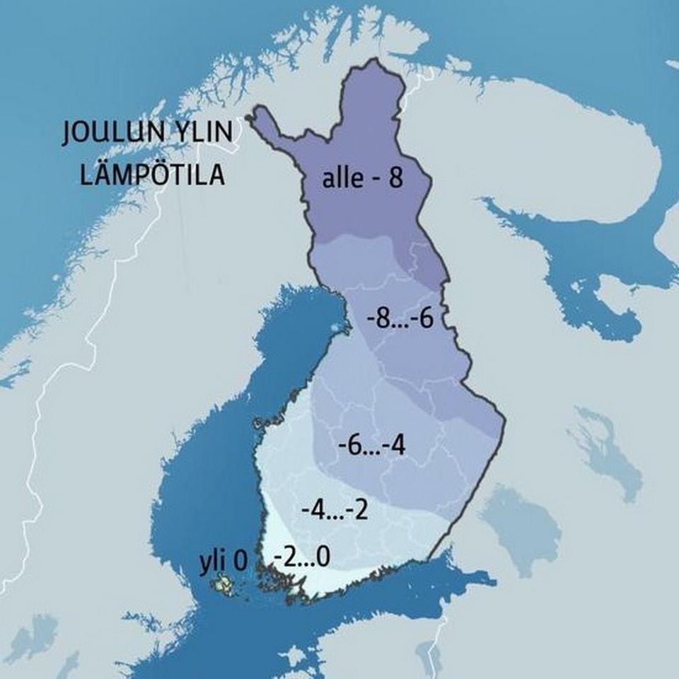 joulu 2018 lämpötila Yle Sään joulukalenteri | Sää | yle.fi joulu 2018 lämpötila