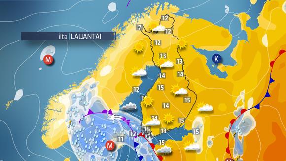 Kevätjuhlia vietetään poutaisessa ja laajalti aurinkoisessa säässä | Sää | yle.fi