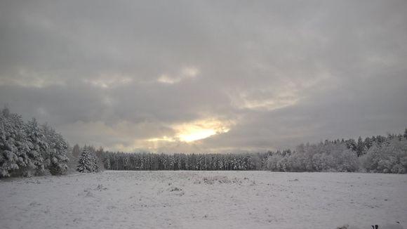 Lumipeite Pirkanmaalla 21.11.