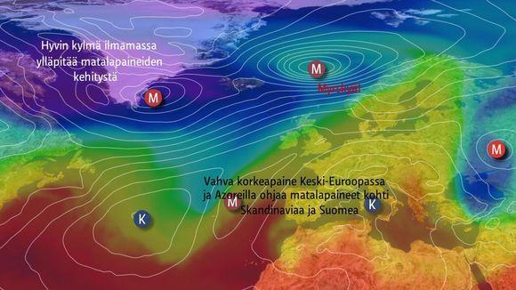Video: Matalapaineiden ja ilmamassojen liike