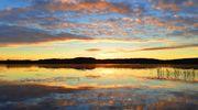Sääkuva: Aamun kajastus Raanujärvellä