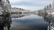 Sääkuva: Lumi maalasi maiseman Jämsässä