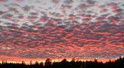 Sääkuva: Iltataivas Mouhijärvellä