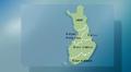 Säägrafiikkaa: Etelä- pohjoissuuntainen aluejako sääennusteissa