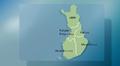 Säägrafiikkaa: Itä- länsisuuntainen aluejako sääennusteissa