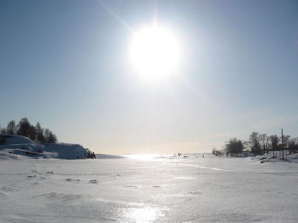 Kevättalven aurinko