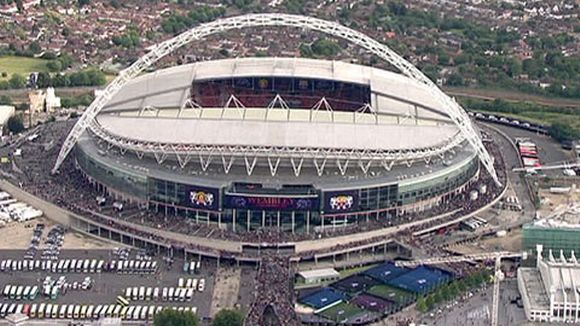Wembley Lontoossa.