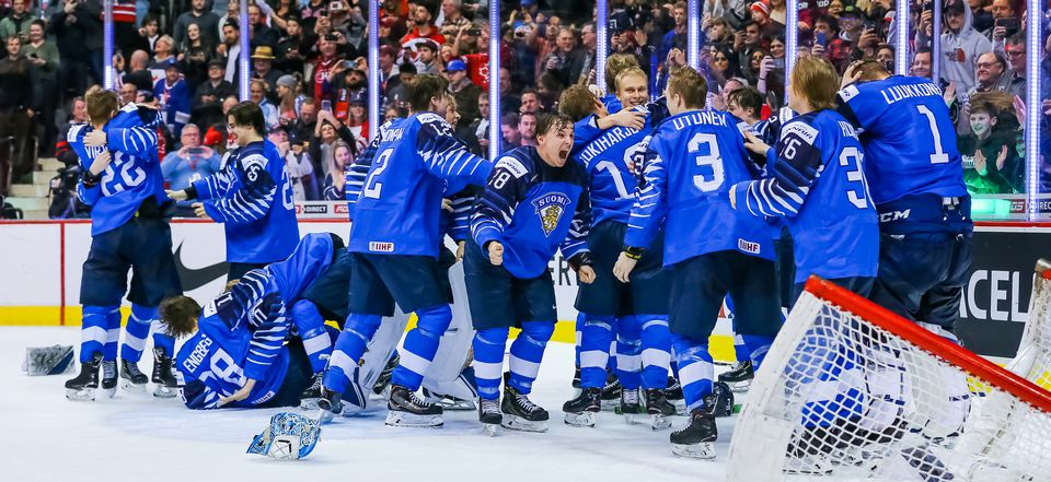 Team Finland Wins Gold At Ice Hockey Junior Championship Yle