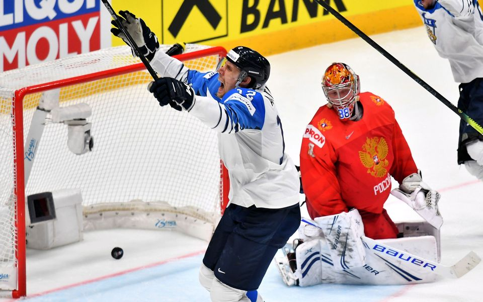 Finland Beats Russia To Reach Ice Hockey Championship Final Yle
