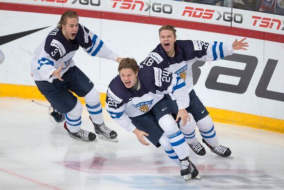 Finland Win World Juniors Title In Helsinki Yle Uutiset Yle Fi