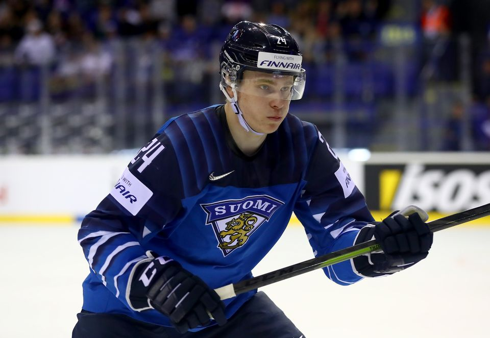 new product 76db9 ce125 Ice hockey champ and NHL hopeful Kakko to receive award ...