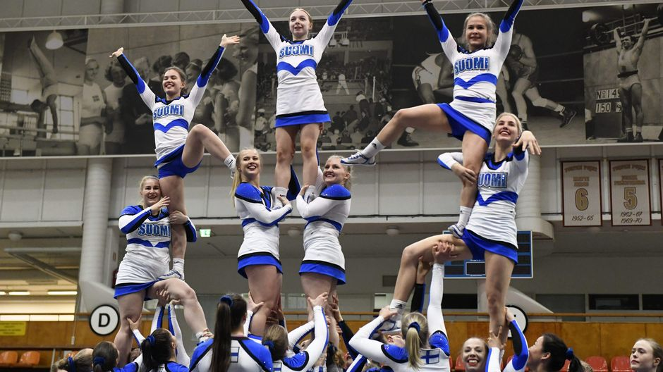 Cheerleading Tampere