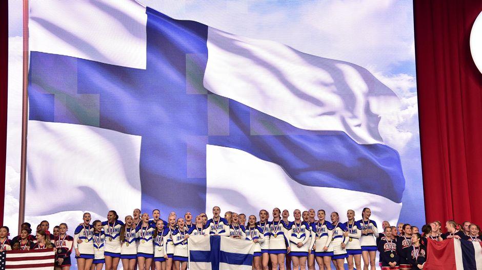 Cheerleading Suomi