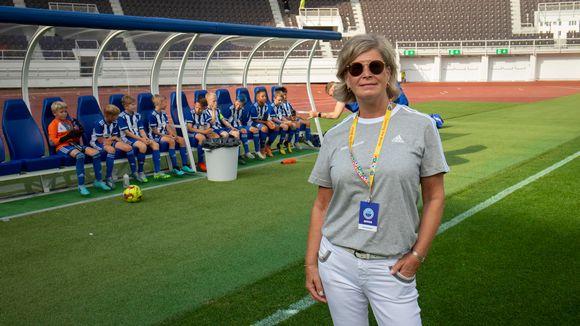 Kirsi Kavanne Helsinki Cupissa.