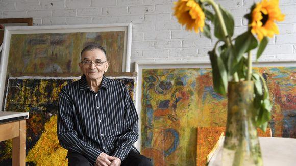 Taidemaalari Rafael Wardi kuvattuna Helsingissä 7. kesäkuuta 2018.