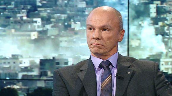 Suojelupoliisin ylitarkastaja Tuomas Portaankorva.