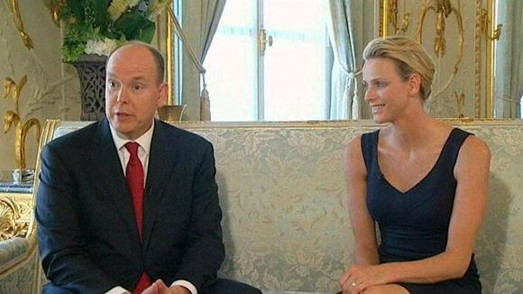 Prinssi Albert ja Charlene Wittstock