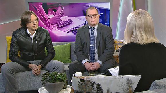 Jari Salminen ja Jorma Kauppinen.