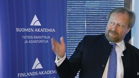Uuden Venäjä-tutkimusyksikön johtaja Markku Kivinen.