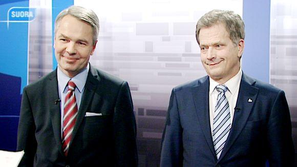 Pekka Haavisto ja Sauli Niinistö