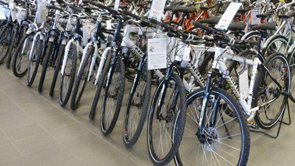 Polkupyöräkauppa alkaa vilkastua.