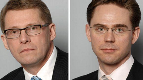 Matti Vanhanen ja Jyrki Katainen