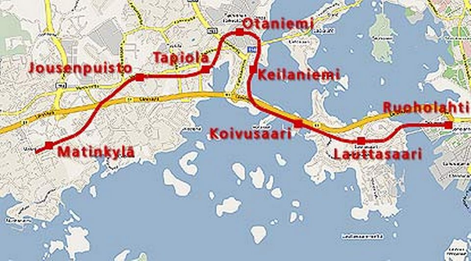 New Metro Tunnels Motorway Lanes Open In Helsinki Suburbs Yle
