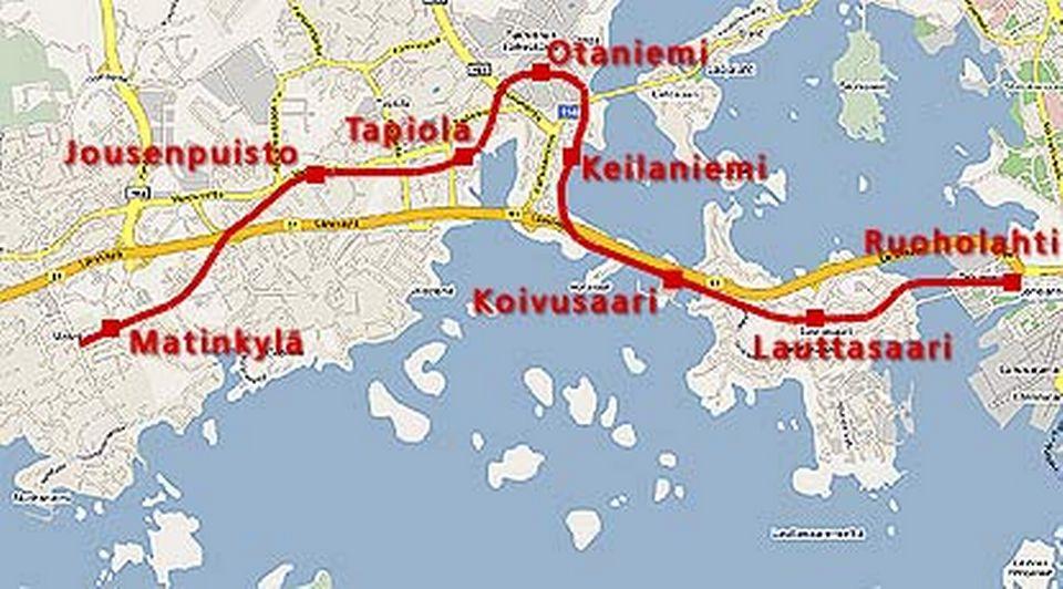 New Metro Tunnels Motorway Lanes Open In Helsinki Suburbs Yle
