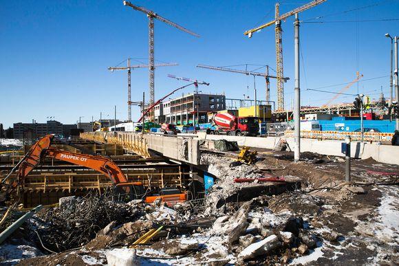 triplan rakennustyömaata