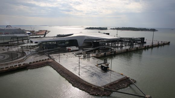 Länsisataman uusin terminaali.