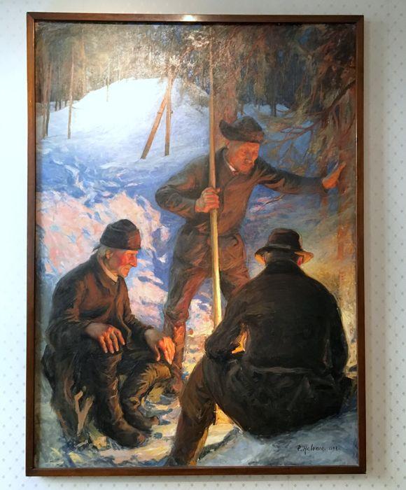 Pekka Halosen maalaus