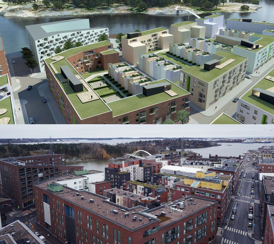 """Helsinki struggles with faltering """"green roof"""" initiative"""