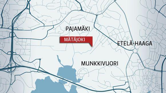 Toxic Spill In Helsinki S Matajoki River Yle Uutiset Yle Fi