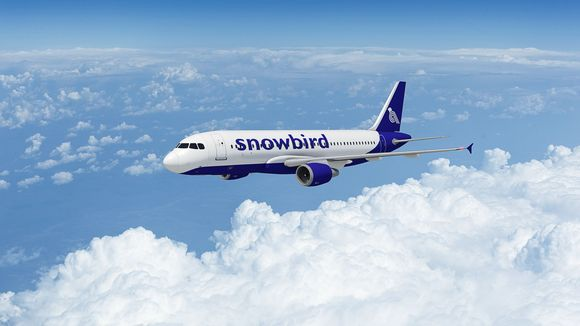 Uuden suomalaisen Snowbird-lentoyhtiön lentokone