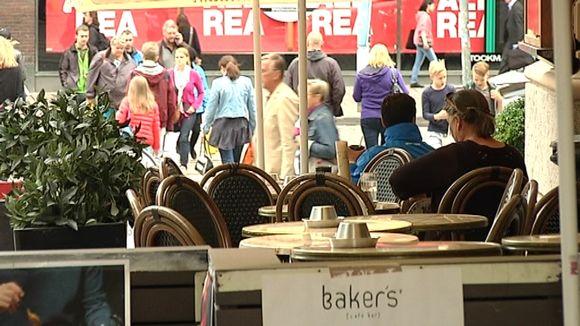 Bakers terassi Helsingissä.