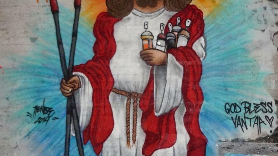 Картинка с иисусом гипноз почвопокровные