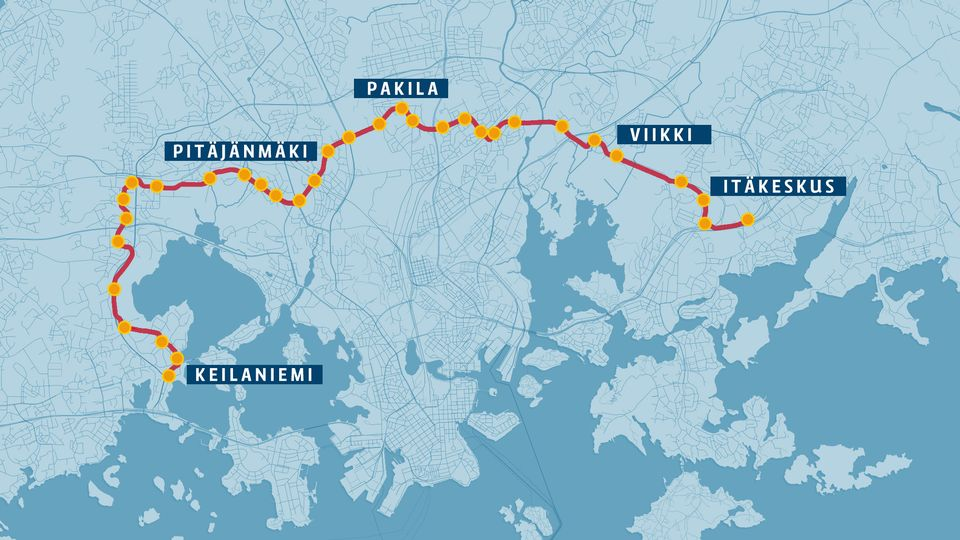 Helsinki Espoo Approve 459 Million Euro Inter City Express