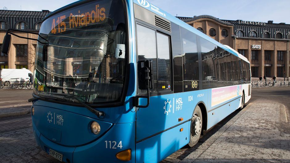 HSL: Bus driver who left behind child acted incorrectly | Yle Uutiset | yle.fi