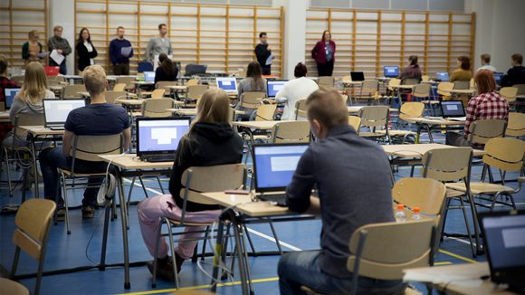 Sähköiset ylioppilaskirjoitukset.