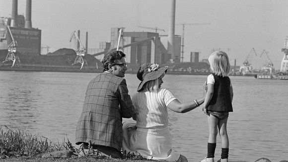 Tervasaaren rantatöyräällä kesällä 1975.