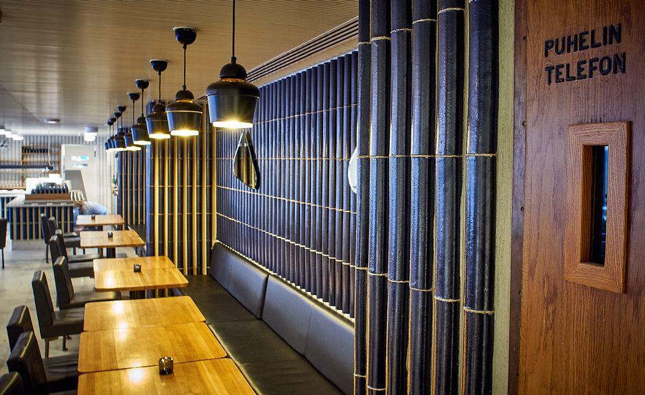 Alvar Aallon rautatalon marmoripihan kahvila