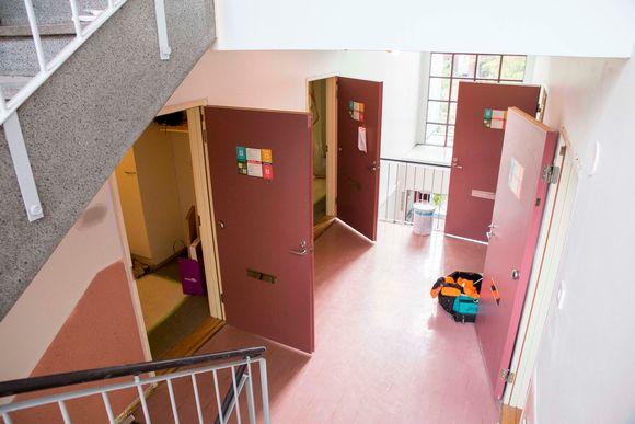 Remontti Hoasin opiskelija-asunnoissa Kivikossa.