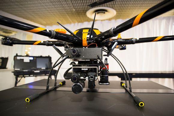 Drone kuvauskopteri