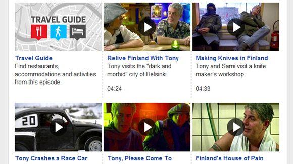 Sivukaappaus Bourdainista Helsingissä