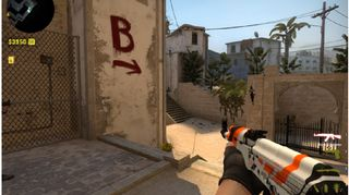 Kuvakaappaus CS:GO-pelistä