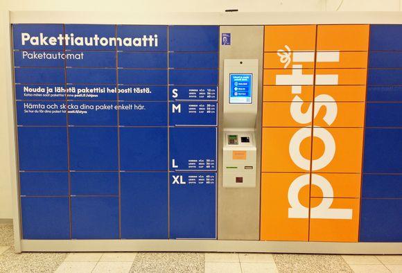 Pakettiautomaatti Turku